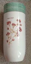 "Rare shape Wedgwood Sarah's Garden Kitchen collection 12"" vase"