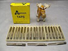 1/4-28 GH3 Swanson Taps 3 Straight Flutes - Lot of 21