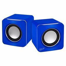 ARCTIC S111 (Blau) - 2.0 Lautsprecher Multimedia Boxen für Notebook - PC