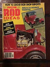 March 1976 1001 Custom and Rod Ideas 35 Chevy Anglia 47 Ford 37 Plymouth Model A