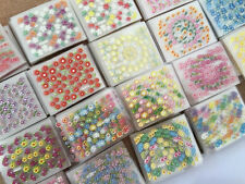 24 SHEETS!! NAIL ART 3D DESIGN NAIL STICKERS MIX DESIGNS FLORAL FUNKY CUTE JH177