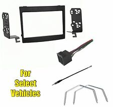 Double Din Car Stereo Radio Install Dash Mount Kit Combo w/Tool for 04-06 GTO