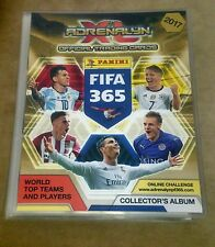 Panini Adrenalyn XL FIFA 365 2017 Complete Set with Binder (423 Cards)