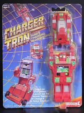1984 Buddy L Charger Tron Transformer Vehicle Tracker Robot Attacker Free US S&H