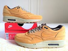 Nike Air Max 1 LTR - Bronze / Wheat - Men's Size 8 US NEW - Flax Suede