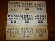 *RARE* (9) 1970-72 MISSOURI STATE PEN ESCAPEES FBI WANTED POSTERS *PLS OFFER*