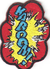 """KABOOM!""-BATMAN-JUSTICE LEAGUE-DC COMICS-Iron On  Patch/TV,Movie,Cartoons,"