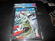 CGC 9.8 SUICIDE SQUAD #1 DC REBIRTH VARIANT AWESOME BE THE FIRST TO GET IT !!!