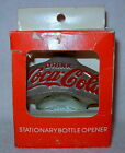 Coca Cola Wall Mount Starr X Bottle Opener Metal - Made in Germany - New in Box
