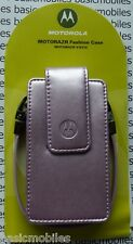 Genuine/original Motorola Razr V3/v3i Fashion Estuche Bolsa Color Rosa Claro