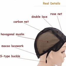 New  full  NET Wig  Stretchable Lace Wig Caps For Making Wigs
