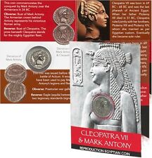 Cleopatra And Mark Antony Coin Pack - Busts Denarius