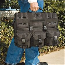 NRA Black Special Forces and Navy Seals Tactical Molle Laptop Computer Bag Case