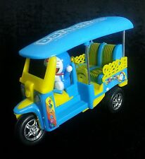 Car Model Toy Doraemon Figure Japan Animate Three Wheel Tuk Tuk Taxi Thailand