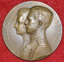 Bronze Medal / Prince Leopold and Princess Astrid - 1926