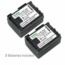 2x Kastar Battery for Canon BP-808 LEGRIA FS37 LEGRIA FS305 LEGRIA FS306
