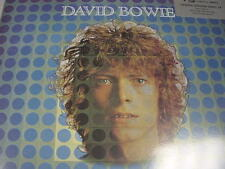 DAVID BOWIE Space Oddity 180 Gram UK SIMPLY VINYL SILVER STICKER DELUXE PACKAGE
