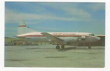 Zantop International Convair CV640 Aviation Postcard, A675