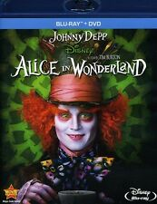 Alice in Wonderland [Blu-Ray/DVD] Blu-ray Region A