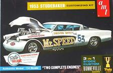 STUDEBAKER STARLINER 1953 STOCK CUSTOM BONNEVILLE TROPHY SERIES 1:25 AMT 877 KIT