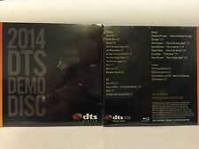 DTS Demo Disc 2014 #18 from CES - Sealed Fast Shipping