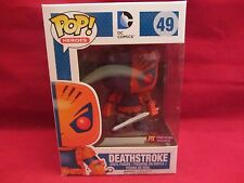 Funko Pop!  DEATHSTROKE  #49 DC Comics Previews Exclusive  MIB (E216HP)