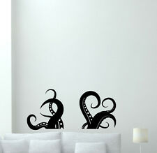 Octopus Tentacles Wall Decal Vinyl Sticker Poster Nursery Bathroom Decor 158xxx