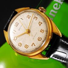 Vintage mechanical mens watches VOLNA Precision Chronometer 2809 type Zenith 135
