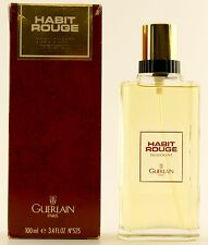 (GRUNDPREIS 99,90€/100ML) GUERLAIN HABIT ROUGE 100ML DEODORANT SPRAY