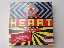 "Heart Limited Edition 7"" Vinyl Record Barracuda/Fanatic & XL T-shirt New Sealed"