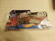 Hot Wheels StarWars Tie Fighter v Millennium Falcon Die Cast Starships box damag