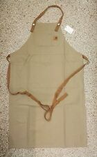 Carhartt Canvas Bib Apron, Leather Rigid *special offer / rare*