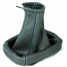 FITS FORD FOCUS C-MAX 03-08 BLUE ST REAL ITALIAN LEATHER GEAR SHIFT BOOT GAITER