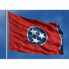 Tennessee State Flag Banner Super-Poly 5x8 foot (150D Super Polyester)