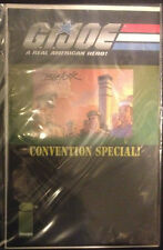 GI Joe Convention Special Comic Signed Josh Blaylock Certificate of Authenticity