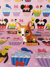 littlest pet shop - petshop -   perro corgi   2290