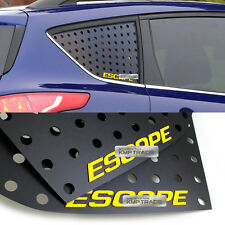 C Pillar Window Glass Sports Plate Molding Yellow Logo for FORD 2013-2016 Escape