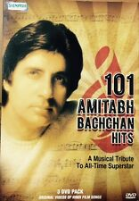 101 Amitabh Bachchan Hits - 101 Bollywood Songs DVD, 101 Songs In 3 DVD Set