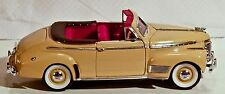 1941 Chevrolet Special Deluxe by Welly 1:24 Tan Convertible Collectible # 2411