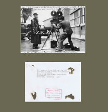 AGENT DE POLICE CAMERA Cinema Barbe St Denis Paris 1936