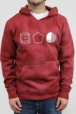 New DC SHOES Mens Evan Ripper Pullover Hoodie Sweatshirt Size Medium Syrah BW1