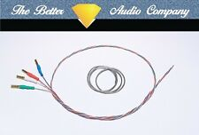 "Discovery Wire 9"" Tonearm Rewire Kit.Ready Fitted Cartridge Tags, Cardas Solder"