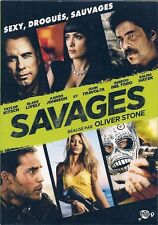 DVD ZONE 2--SAVAGES--KITSCH/TRAVOLTA/DEL TORO/HAYEK/STONE/JOHNSON