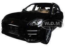 2013 PORSCHE MACAN TURBO BLACK METALLIC LTD 504 1/18 BY MINICHAMPS 110062502