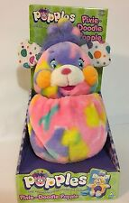 2001 Toymax Popples Pixie Doodle Popple Plush In Original Box Toy Colorful