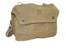 Finnish Army Surplus Canvas Shoulder Bag, Military WatchTower field service bag