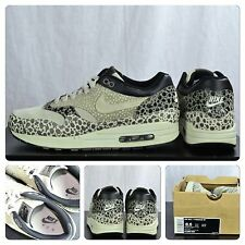 Nike Air Max 1 Premium SP Grey Safari, Sz 8.5 Rare Supreme Glow