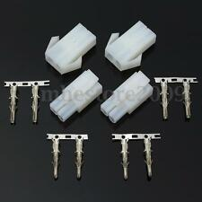 4x Connector Adapter Plug Socket Female For Optimate Accumate Battery Charger