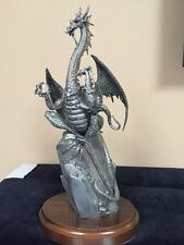 "PERTH PEWTER "" THE DRAGON TALES"" LIMITED EDITION BY JAMES LANE CASEY"