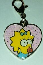 MAGGIE SIMPSON FROM THE SIMPSONS UNIVERSAL STUDIOS JEWELRY CHARM